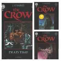 °THE CROW: DEAD TIME 1 bis 3 von 3°US Kitchen Sink Comics 1996 Black & White