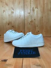 NWOT K Swiss Classic Luxury Edition All White Leather Women's Shoes Sneakers