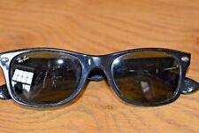 Ray-Ban negro nuevo Wayfarer Gafas de sol; RB 2132; 52x18