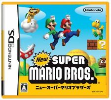 New Super Mario Bros. NDS Nintendo Nintendo DS From Japan