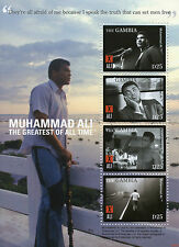 Gambia 2008 MNH Muhammad Ali Greatest of All Time 4v M/S II Boxing Stamps
