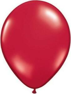 "Ruby Red Latex Balloons 144 Pieces-11"" Shower Bridal Birthday Party Pro Quality"