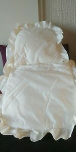Pour poupées Corolle ou autres Ensemble 3 pièces pour lit
