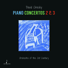 David Chesky - Piano Concertos 2 & 3 [New CD] Digipack Packaging