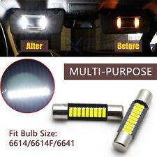 Xenon White 29MM 9SMD LED For Car Vanity Mirror Light Sun Visor Bulb JDM 6641 T6