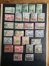Fiji KGVI selection of mint and used stamps, reasonable cat value.