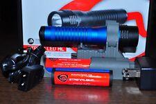 Streamlight Strion Flash Light blue Body 500 Lumens HL 2 Li-ion Batteries 74782