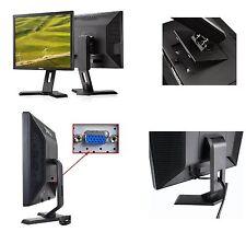 """Dell E190S 19""""Desktop PC LCD Monitor Flexi Swivel Stand,VGA E190SB"""