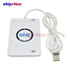 Smart USB ACR122U NFC Reader Writer 13.56Mhz RFID Copier Duplicator Contactless