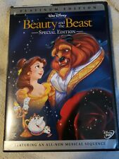 Beauty and the Beast (DVD, 2002, 2-Disc Set, Special Edition) PLATINUM