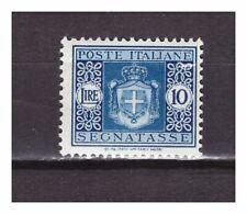 s27245) ITALIA 1934 MNH** Segnatasse L.10 Sassone #45