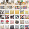Fashion Print Pillow Cases Polyester Sofa Car Cushion Cover Home Room Decor