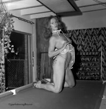 Marilyn Chambers 1975 Camera Negative Miami Cocktail Party Racy Sultry Pose NR