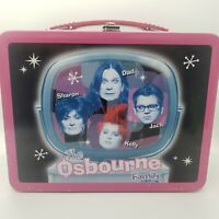 The Osbourne Family Metal Lunchbox Vintage 2002 with UNUSED Thermos Collectible