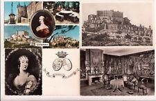 Lot 4 cartes postales anciennes DRÔME GRIGNAN château