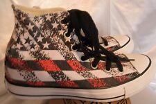 Converse All Star Natura USA Flag Patriotic Hi Tops Sneakers Shoes Men 5 Women 7