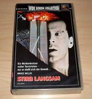 VHS - Stirb Langsam - Bruce Willis - Die Hard - 80er 80s - Videokassette