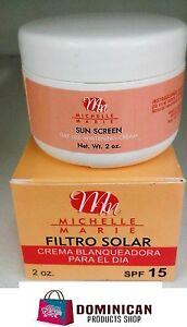 Michelle Marie Whitening cream Day Use SPF15 2 oz CREMA BLANQUEADORA JAPAN EUROP