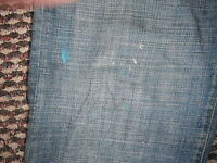 "Gap Boycut Jeans Size 8 Leg 35"" Faded Dark Blue Ladies Jeans"