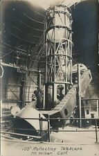 "Old Real Photo Postcard - 100"" Reflecting Telescope - MT. Wilson California"