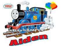Thomas The Train & Friends Personalized Birthday T Shirt ADD NAME- AGE TO TRAIN