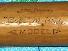 Vintage Signature Series Phillies BAKE McBRIDE Adirondack Little League Game BAT