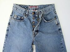 SILVER JEANS BUTTON FLY MENS JEANS SIZE 28 x 28 ~ MEASUREMENT( 25 x 28 )