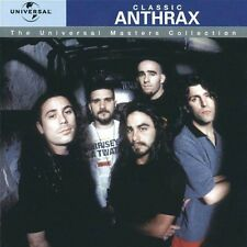 ANTHRAX - CLASSIC-  CD NUOVO