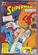! SUPERMAN POCHE N°84 / 85 en TRES BON ETAT !