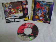 WOW! Darkstalkers' Revenge Vampire Savior The Lord of (saturn 1996) RARE! Japan!