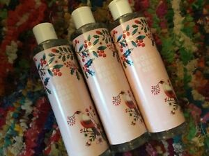 Lot of 3 Avon Holly Berry Kiss Shower Gel Limited Edition - 10 oz each