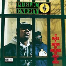 Public Enemy - It Takes a Nation of Millions to Hold Us Back [New CD] Explicit,