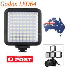 Godox LED64 Lightweight Portable Video Light 64 LED Lights for DSLR Camcorder DV