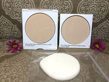 NEW SET OF CLINIQUE STAY MATTE SHEER POWDER OIL FREE & REFILL # 01 STAY BUFF !!