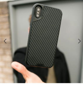MOUS AIRO SHOCK Karbon Fiber CASE for Apple iPhone XS/X-BLACK