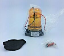 Led Warning Light Forklift Tractor Flashing Beacon Amber Strobe Usa Made New