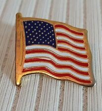 Tie Tack Lapel Pin Enamel Us Flag Pin