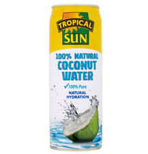 Tropical Sun 100 Percent Natural Coconut Water 520 ml Pack of 12