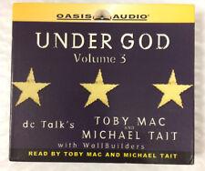 Toby Mac Under God Volume 3 CD AUDIO BOOK Unabridged
