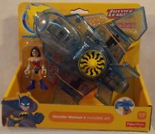 DC Super Friends By Imaginext - Wonder Woman & Invisible Jet Plane (MISP)