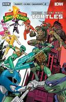 Power Rangers Teenage Mutant Ninja Turtles #2 Cvr A (2020 Boom! Studios) Mora