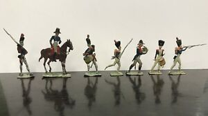 Figurines Pewter - Band Of 7 Soldiers