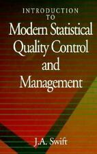 Introduction to Modern Statistical Quality Control and Management
