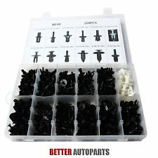 350pcs Auto Car Push Retainer Pin Rivet Trim Clip Panel Moulding Assortments Kit (Fits: Ford Aspire)