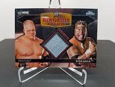2006 Topps Chrome WWF Ringside Relics Kane vs. Umaga Patch Card NM/M