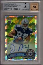 2011 Topps Chrome DEMARCO MURRAY CRYSTAL ATOMIC AUTO REFRACTOR RC /50 BGS 9.0!!