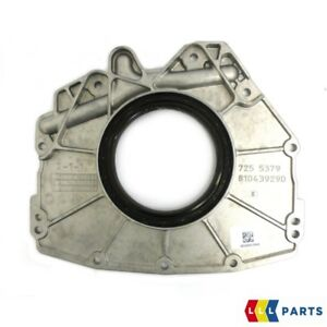 NEW GENUINE MERCEDES BENZ OM642 ENGINE REAR OIL SEAL AND COVER A6420100214