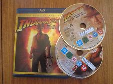 Indiana Jones et le royaume du Crane de Cristal 2 disc Special Edition ~ Blu-Ray