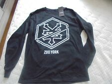 ZOO YORK Tee-Shirt Manches Longues Auburn  Medium NEUF ETIQUETTE