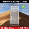 Mac Pro 2012 | 3.46GHz 12 Cores | 64GB RAM | 2TB HDD | R9 280x 3GB VRAM